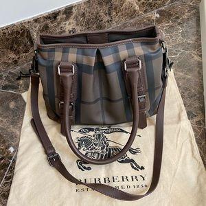 Burberry Small Northfield handbag in Smoked Brown